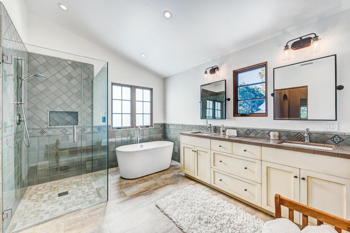 Ceiling tiles bathroom