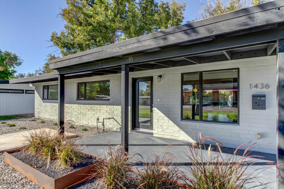 1436 e rancho dr phoenix az mls 5511122 ziprealty for Mid century modern homes for sale houston