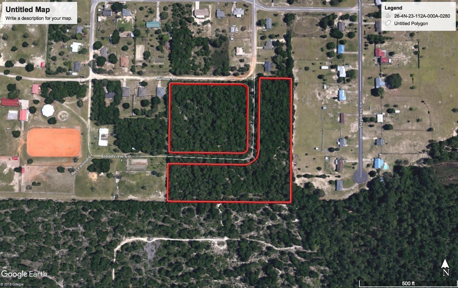 16 Lots Willow Drive, Crestview, FL 32539 - MLS #812818