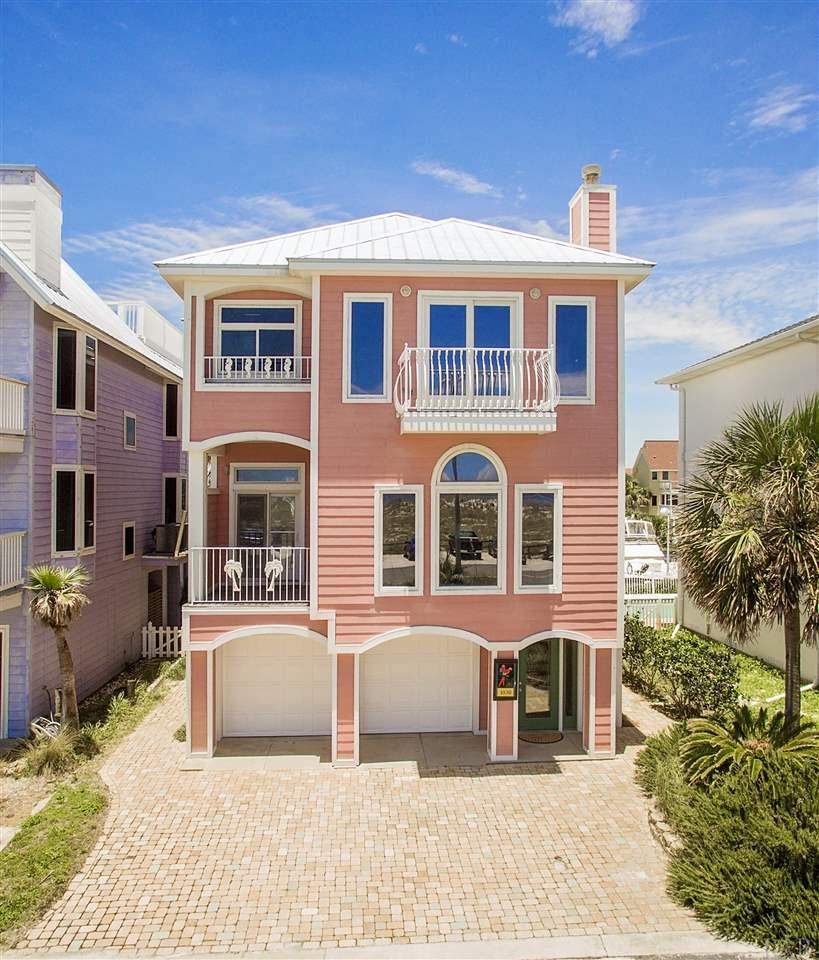 Pensacola Beach House For Sale: 1030 Fort Pickens Rd, Pensacola Beach, FL