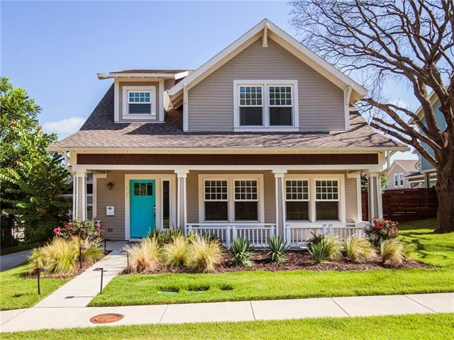 1629 kyle ave dallas tx mls 13627667 ziprealty for Craftsman style homes for sale dallas tx