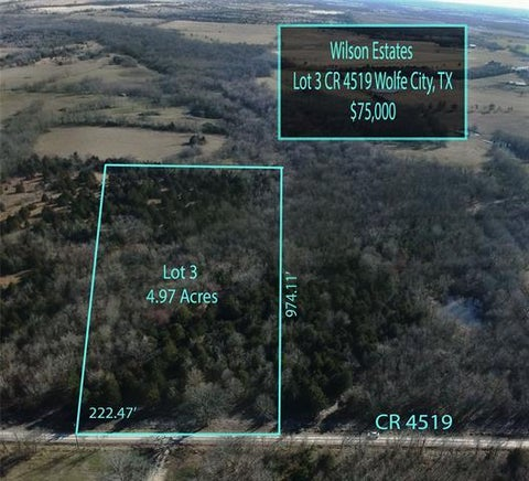 Lot 3 County Rd 4519