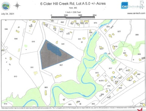 Lot 5 A Cider Hill Creek Lane