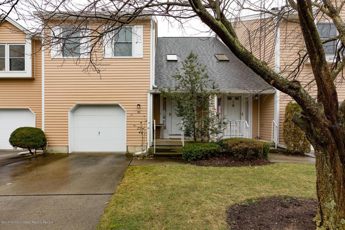 Local Real Estate: Townhomes for Sale — Little Silver, NJ — Coldwell ...
