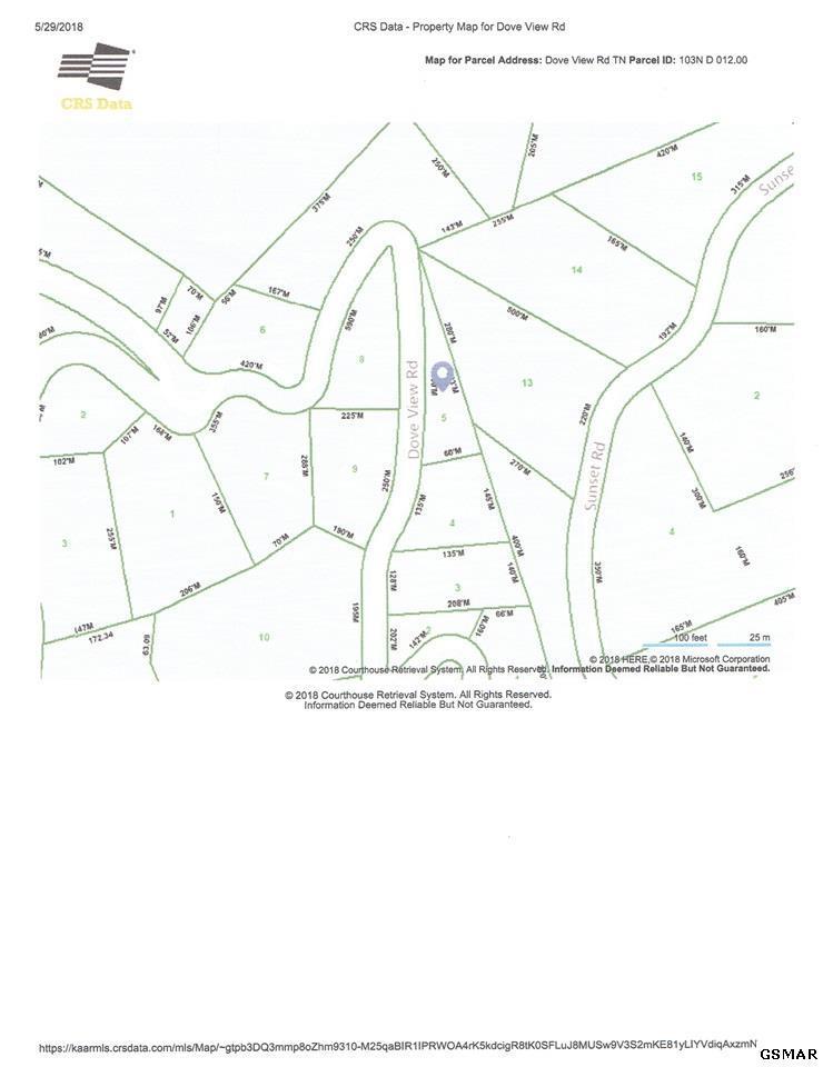 Sevierville Zip Code Map.Lot 0005 Dove View Rd Sevierville Tn Mls 216574 Century 21