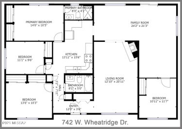 SFR located at 742 W Wheatridge Drive