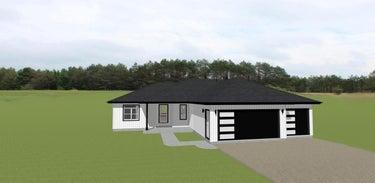 SFR located at SAVANNAH LANE #13 proposed construc