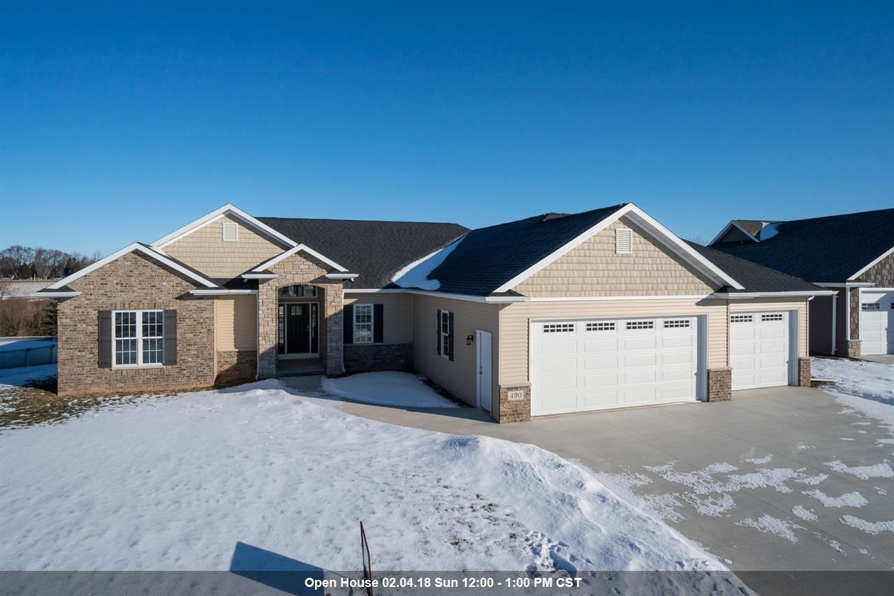 490 albert way appleton wi mls 50176111 era for Home builders appleton wi